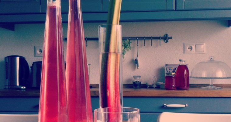 Rebarborový sirup