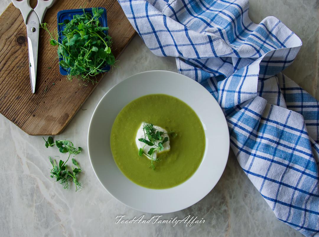 lehká Hrášková polévka