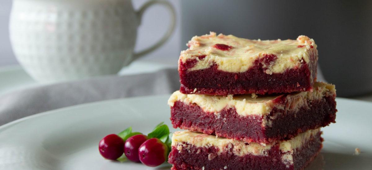 (Čeština) Red Velvet tvarohovo čokoládový koláč