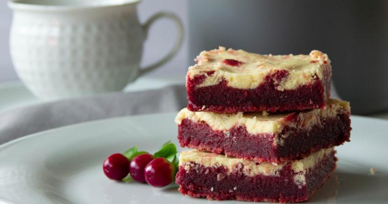 Red Velvet tvarohovo čokoládový koláč