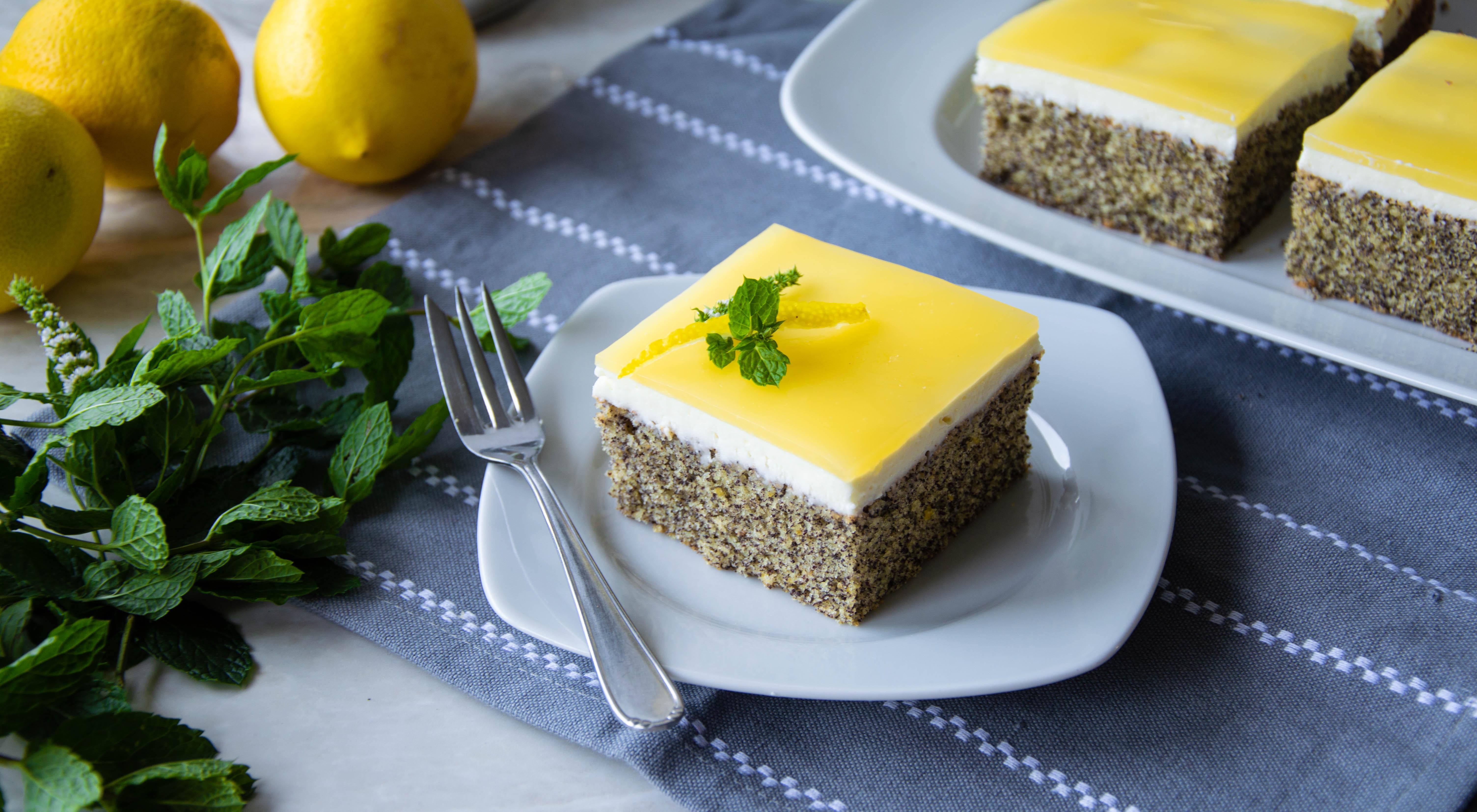Citronovo – makový koláč