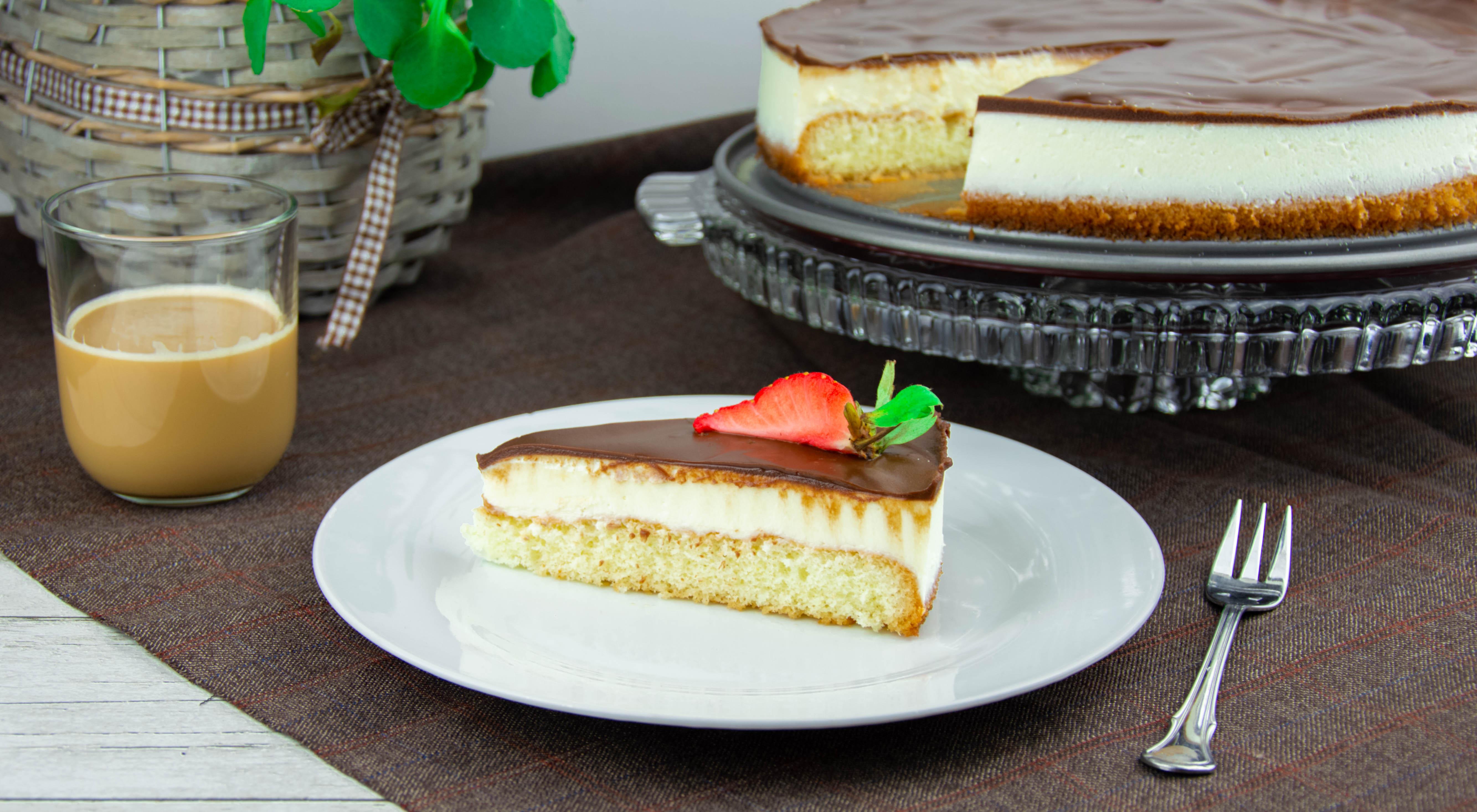 Tvarohový dort z lásky